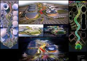 Design plans for the 2016 Rio Olympics