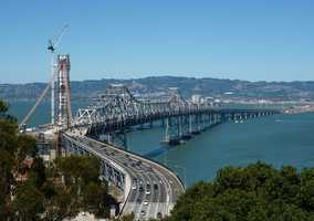 Based on the three previous Bay Bridge Labor Day closures since 2007, motorists experienced bottlenecks and traffic delays on freeway connectors.Click here for a map of possible bottlenecks during the closure.