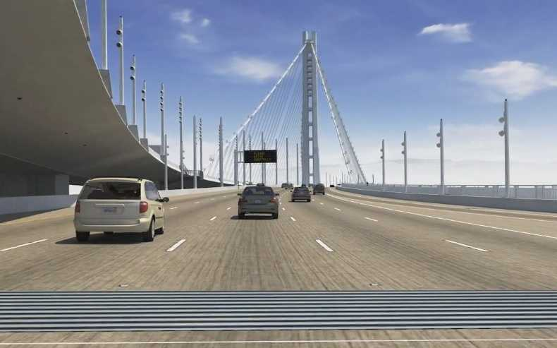 What will it look like? Click here to see an animation of what drivers will experience as they drive across the bridge.