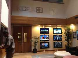 If you are ever a guest at KCRA 3, the lobby is your first stop.