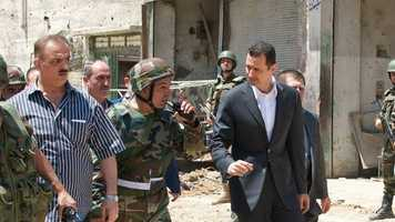 """2. Who is Bashar Assad?He's nearly 48 years old. He's the son of Hafiz Assad. He had never planned to go into politics and was studying to be an eye doctor in England when his older brother was killed in a car crash in 1994. He became president when his father died in 2000. He's a part of the Alawite Muslim minority, which is far outnumbered by Sunni Muslims, who would likely take control if he's overthrown. Since the """"Arab Spring of 2011,"""" he's been fighting to repress an internal rebellion which has evolved into a civil war that has killed more than 100,000 people."""