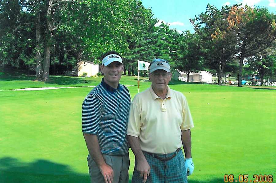 5. Playing golf with my father one day, I carded a hole-in-one. The best thing about that moment is, my dad made a par on the hole. He just missed making that birdie putt.