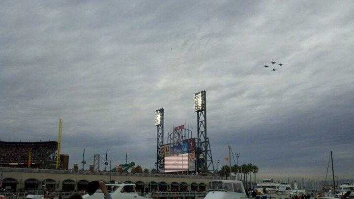 19. I always get chills during the national anthem at big games -- then really pumped up after the flyover.