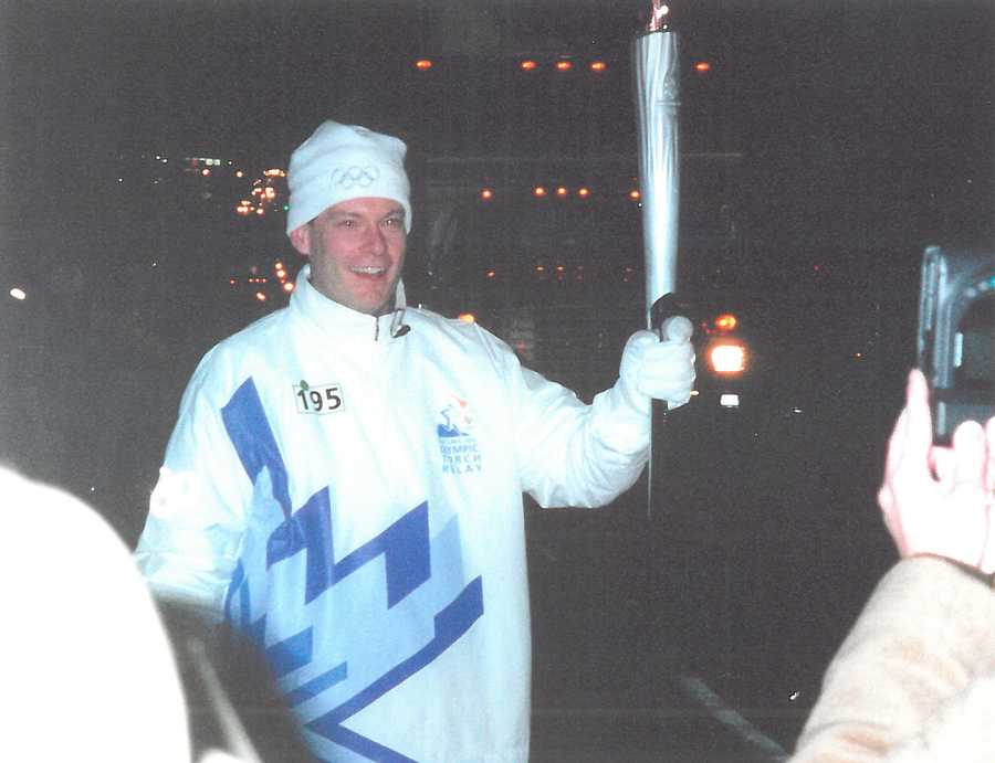21. I ran the Olympic Torch relay, ahead of the 2002 Winter Games. All torch-bearers carry the Olympic flame the same distance, 0.2 of a mile. I actually handed the torch to my support runner for half of it. He was a fireman that earned the honor for rescuing an entire family from a burning building.