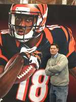25. I was born and raised in a suburb of Cincinnati called Middletown, Ohio. I grew up and remain a die-hard Bengals and Reds fan.