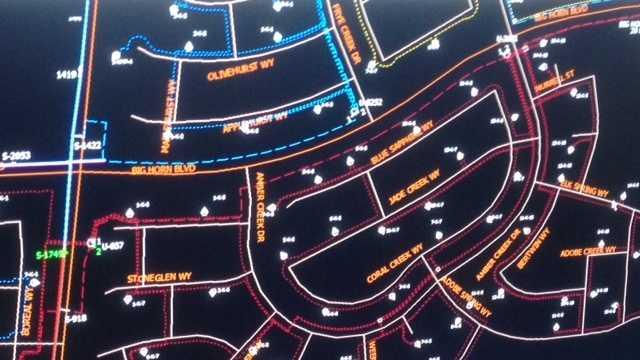 A sample of neighborhood power mapping.