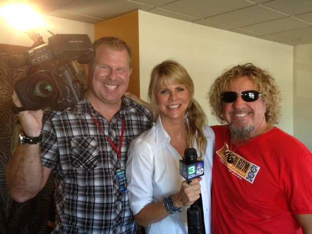 Here's Hagar with his wife, and KCRA 3 photographer Alan Blaich.