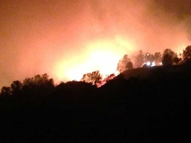 It was 20 percent contained as of Monday night (Sept. 9, 2013).