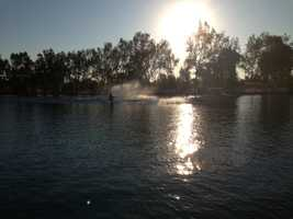 The return of elite-level professional water skiing at Rio Linda's Bell Acqua Lake is raising hopes for the future for the venue.