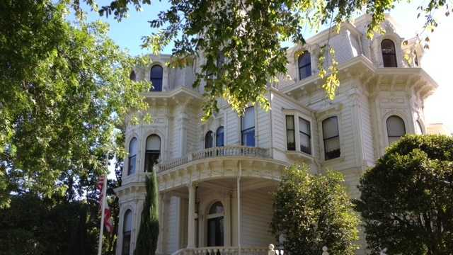 The Governor's Mansion is one of the 70 parks that will stay open, the director of California's State Parks and Recreation said. (Sept. 18, 2013)