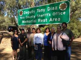 Diaz was raised in Dixon and joined the Yolo County Sheriff's Office in 2004.