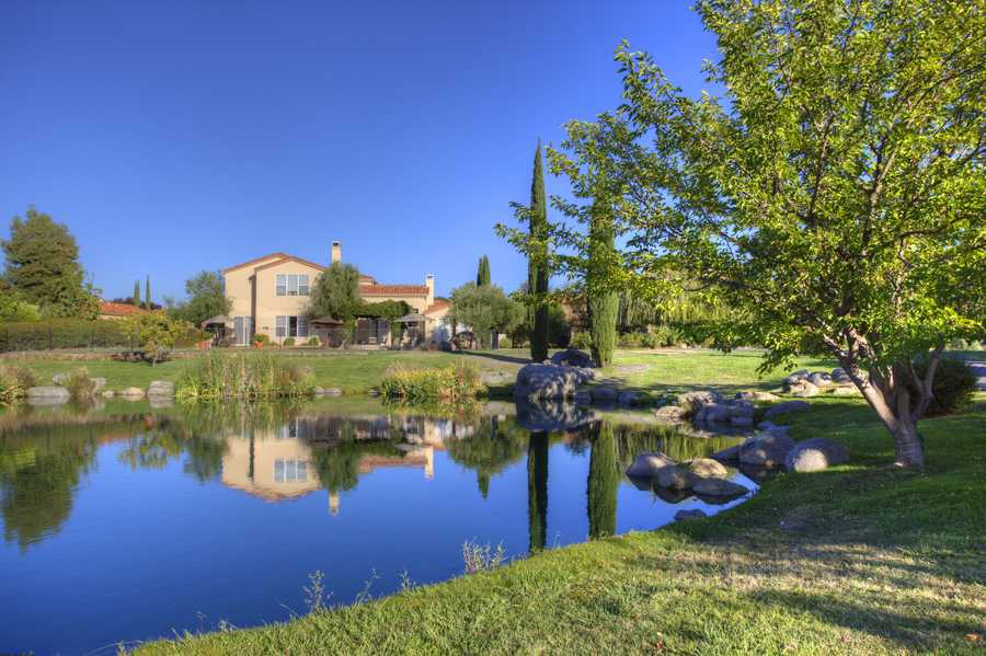 This French countryside estate sits in Granite Bay's Los Lagos community.