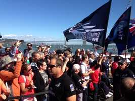 As the stars and stripes billowed in the San Francisco wind, Oracle Team USA produced one of the most monumental triumphs in sporting history.