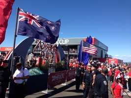 Oracle, which defeated the Swiss team Alinghi three years ago, held onto its title when it seemed certain to suffer one of the most humiliating defeats the America's Cup had ever seen.