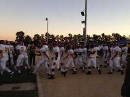 Franklin (Stockton) hosted Edison in KCRA's Game of the Week on Friday. (Sept. 27, 2013)