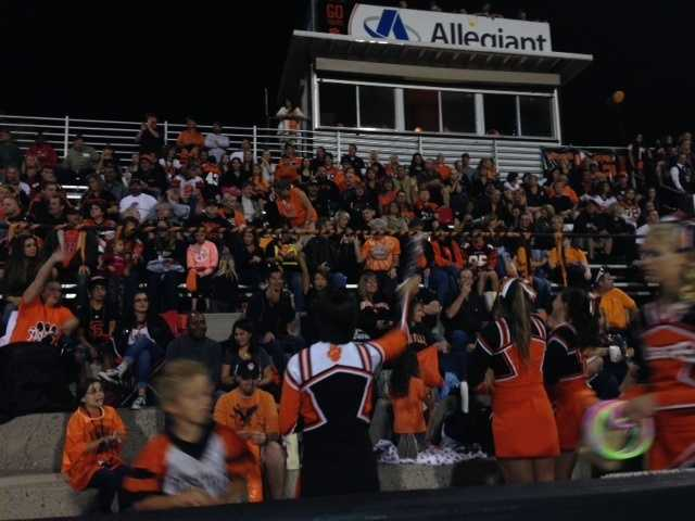 It was a sea of orange and black at Roseville's homecoming football game on Friday.
