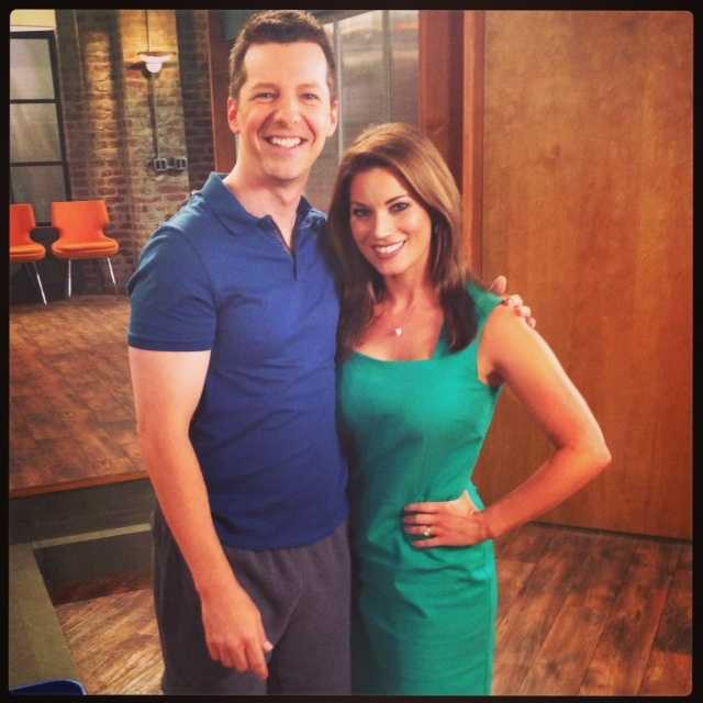 """Lisa Gonzales gets a chance to speak with Sean Hayes of the NBC comedy, """"Sean Saves the World."""""""