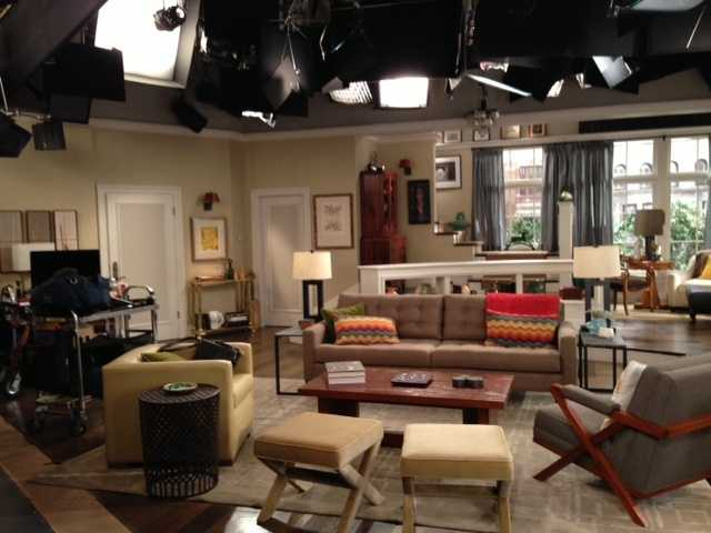 """Here's a peek of what you'll see on set when you watch """"Sean Saves the World"""" this fall."""