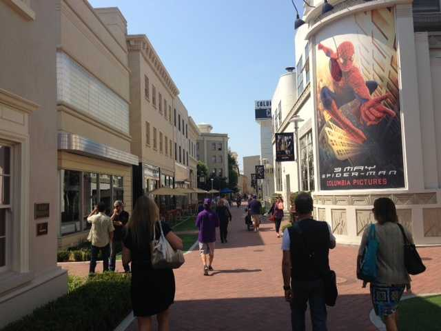 Lisa Gonzales takes you for a walk on the Sony Lot in Culver City