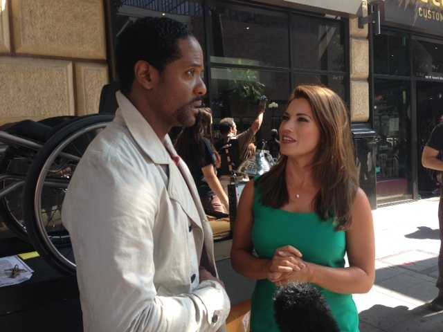 """Lisa Gonzales chats with Blair Underwood, star of the new NBC drama """"Ironside."""""""