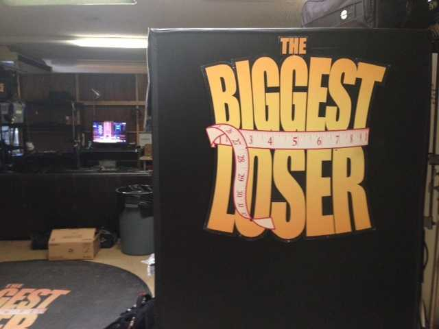 """Lisa Gonzales goes on set of """"The Biggest Loser."""""""