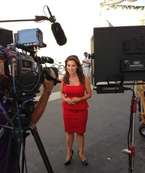 Lisa Gonzales is on set for some exciting new, and returning, shows coming up on NBC this fall.