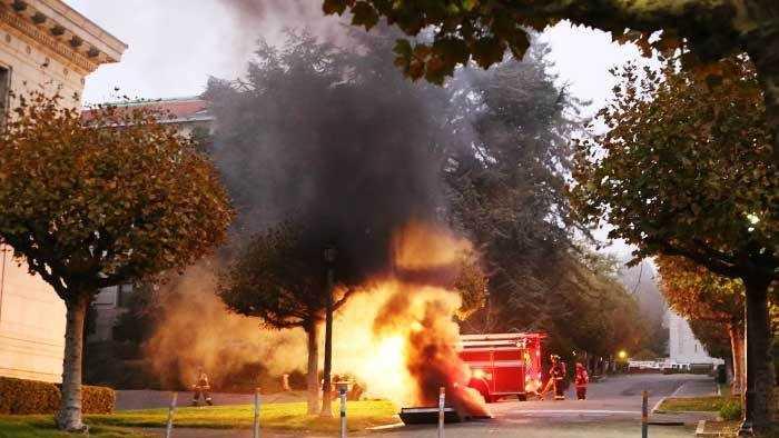 UC Berkeley explosion