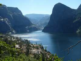 Here's a look at Hetch Hetchy, a valley that was transformed into a reservoir and water system that provides water for the greater San Francisco Bay Area.