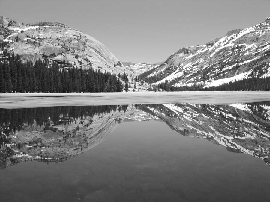 The land's natural landscape was immortalized through black-and-white photography by Ansel Adams, who spent years photographing the park. (Photo edited)