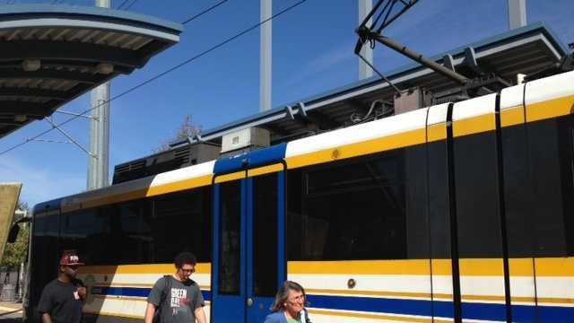 Light rail trains