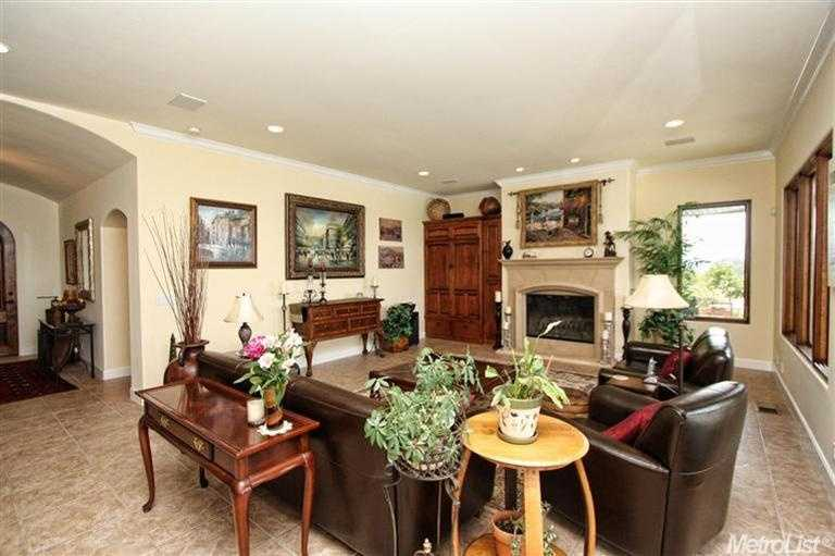 This home offers plenty of living space with about 3,500 square feet.