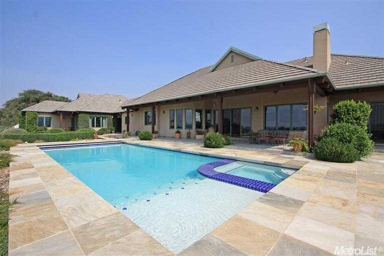 This estate also has a guest home. Fore more information on this home, go here.