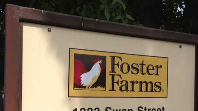 The Foster Farms facility in Livingston.