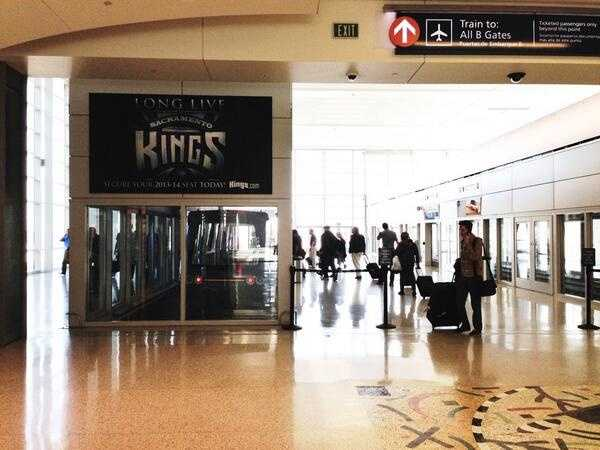 It is a sign! KCRA's Kellie DeMarco took this photo of a Kings sign at the Sacramento International Airport before boarding her flight for Las Vegas.
