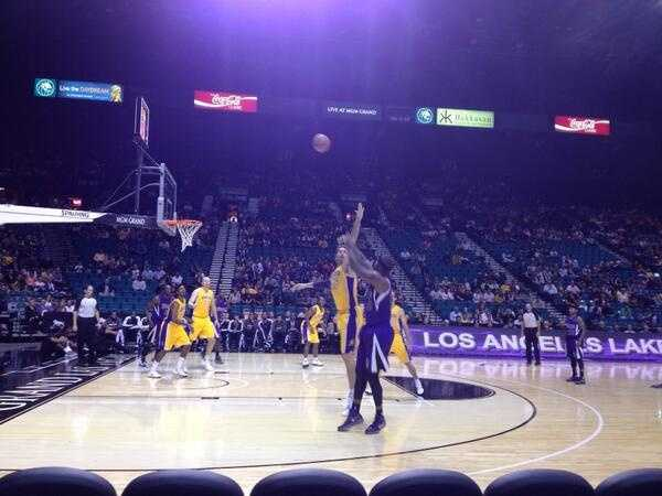 DeMarcus Cousins brought the heat Thursday night at the MGM Grand.