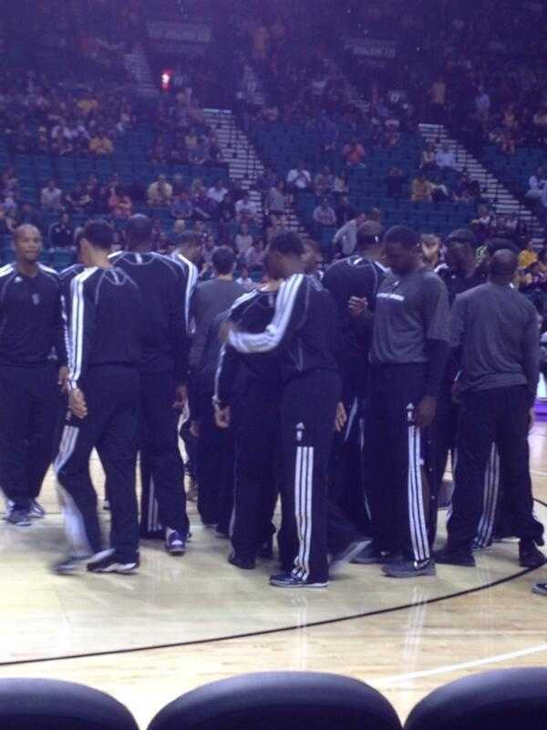 Kellie notes the good energy flowing from Sacramento Kings fans Thursday night.