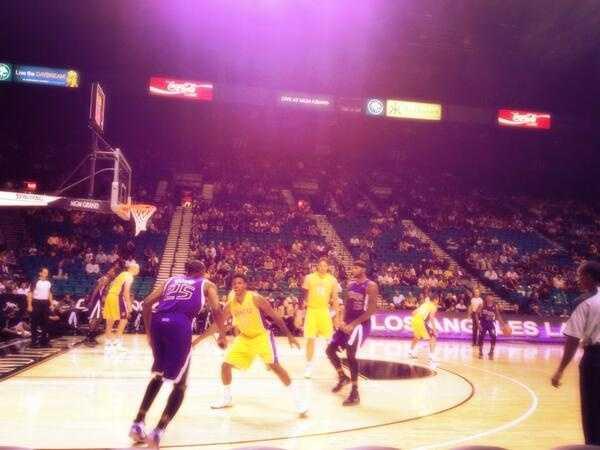 The Sacramento Kings won 104-86 on Thursday night vs. the LA Lakers.