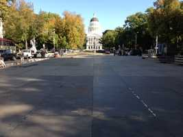 Eighth Street in downtown Sacramento will close starting at 8 a.m. Saturday as construction continues.