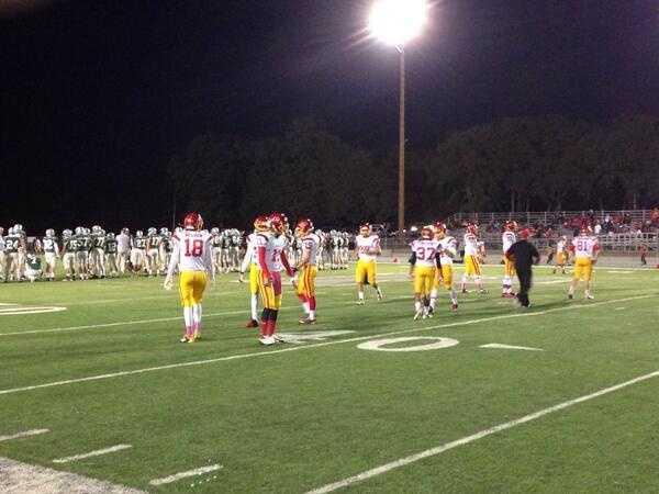 Jesuit traveled to Shingle Springs to take on the Ponderosa High School Bruins in KCRA's Week 6 Game of the Week.