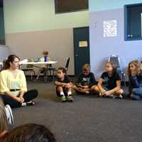I serve as VP of the board of Yoga Across America, which brings yoga to 62 high schools across 14 states -- mostly in under-served neighborhoods -- and provides classes for American service members. In this photo, I'm with children at a free YAA camp at the Sacramento Food Bank and Family Services, talking to them about career choices.