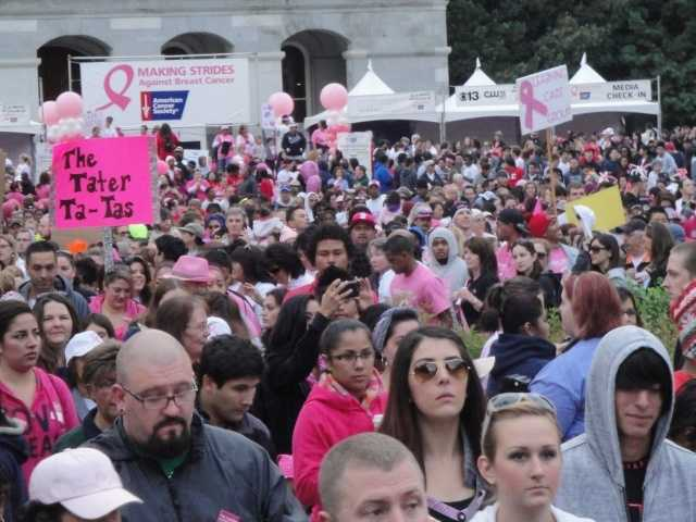 What: Making Strides Against Breast CancerWhere: California State Capitol - West StepsWhen: Sun 8amClick here for more information on this event.