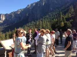 Visitors are relieved to visit Yosemite and so are nearby business owners this week.