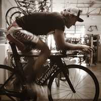 This laid back pro cyclist is quick to point to his family ties as the key to his early success. His father Bruce runs Kinetic Cycles in Elk Grove.