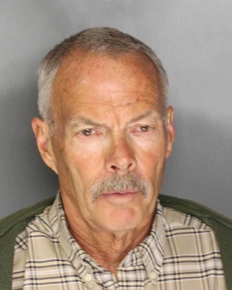 Garth Clark, 67, was held at the county jail after investigators found a large number of inappropriate photographs on his cellphone of a little girl at a seasonal Halloween store, according to the Sacramento County Sheriff's Department.