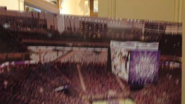 New conceptual drawings of a downtown arena in Sacramento were released Tuesday. (Oct. 29, 2013)