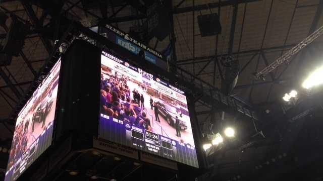 New Kings video screen