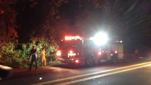 Halloween parkway fires