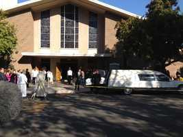 Funeral services were held Thursday for the five members of the Miranda family, who were all killed in a crash in Lodi.