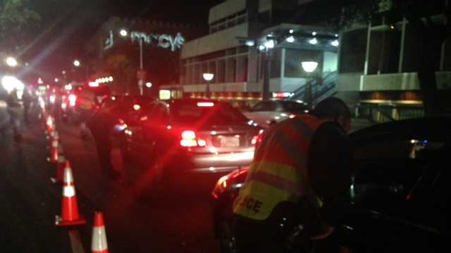 Sacramento DUI checkpoint