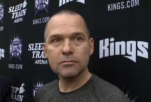 """'Fight and resistance'Following a thumping against his former team, Kings coach Michael Malone questioned his team's fight against the Golden State Warriors. """"There was a lack of fight and a lack of resistance,"""" Malone said Monday. The Kings hope to set the tone against the Atlanta Hawks before playing back-to-back games against the Portland Trail Blazers."""